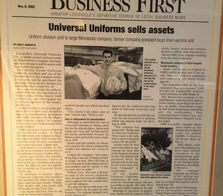 2002 – Universal Uniform Sells
