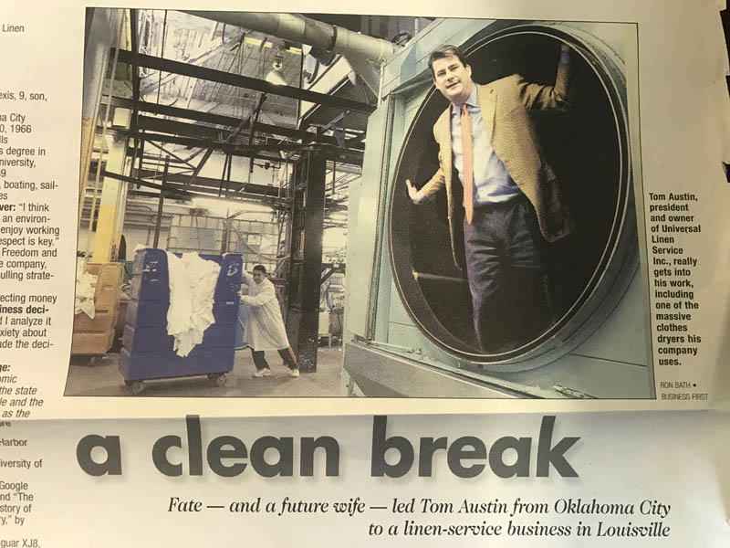 2006 – Universal Linen Profiled in Business First