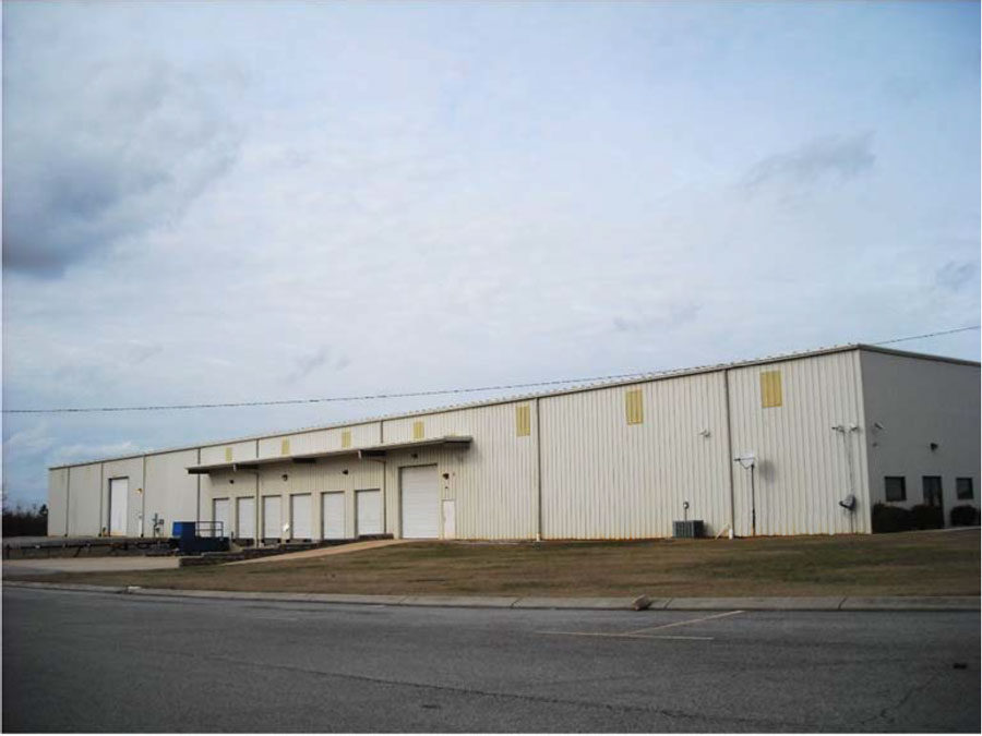 2017 – Acquired new building in Winchester, TN
